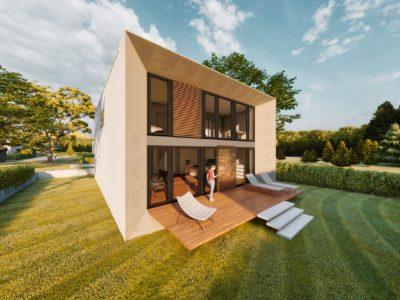 Kubushaus modern