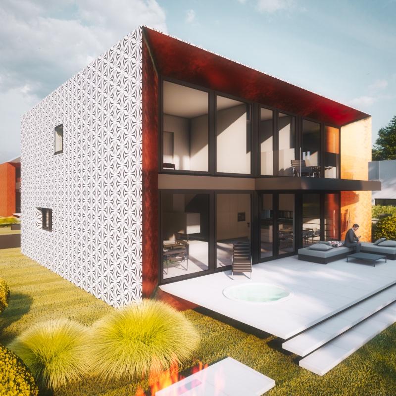 individuelles Kubushaus