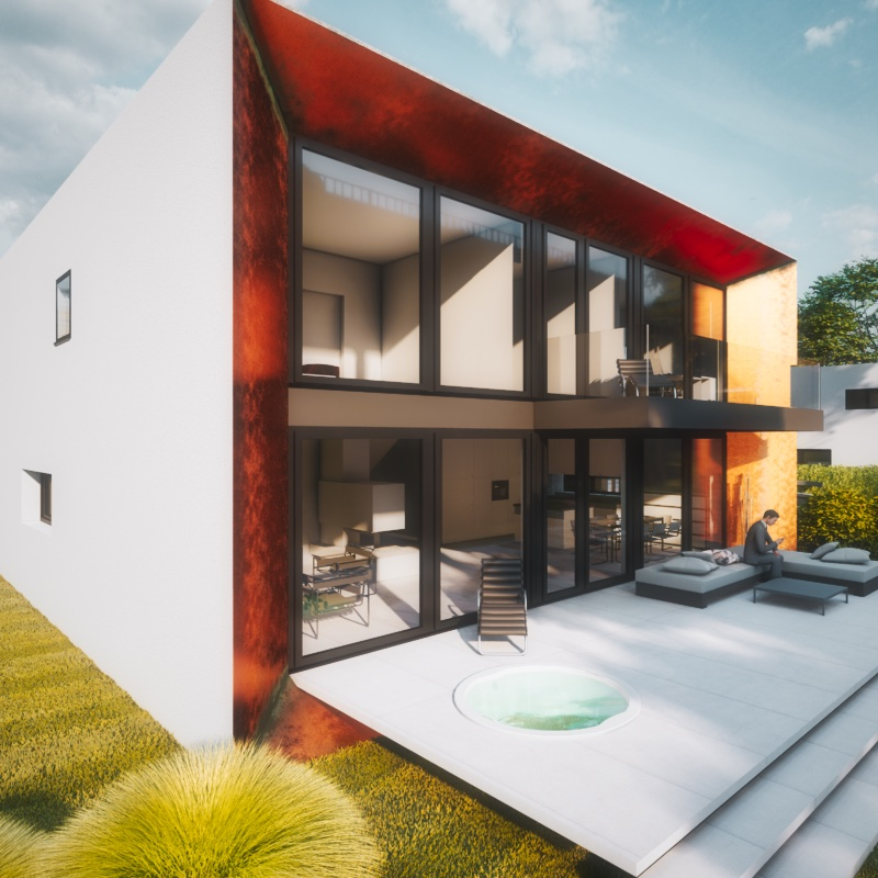 Kubushäuser modern